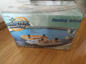 Inflatable Floating Island - Seats Six