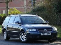 ESTATE VW Passat 1.9TDI PD 130 2005 Highline + CAMBELT DONE TWICE +8 SERV STAMPS