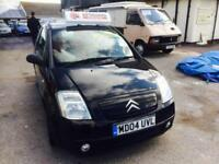 Citroen C2 1.1i 2004MY SX Metallic Black C2 SX Manual 3 Door