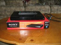 sony dvd player like new