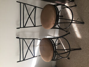 Two counter stool - bar chairs