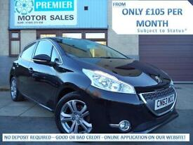 2013 (63) PEUGEOT 208 1.4 HDi FAP ALLURE ( 70bhp ), BLUETOOTH PHONE, DAB RADIO +