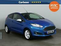 2016 Ford Fiesta 1.25 82 Zetec Blue 3dr HATCHBACK Petrol Manual
