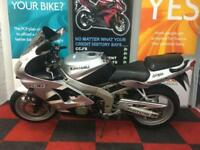 2002 KAWASAKI ZX636 ZX636 A1P SPORTS BIKE