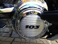 """""""CLUTCH & TIMER COVER"""" POUR HARLEY-DAVIDSON"""