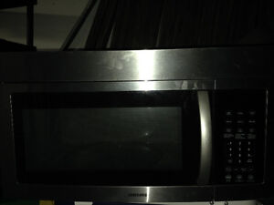 Stainless Range Microwave - Not Running