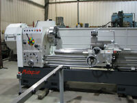 "NEW/MAXCUT – 26"" X 120"" Hollow Spindle Manual Lathe – 6"" Bore"