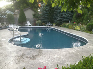 Swimming pool liners and installation London Ontario image 9
