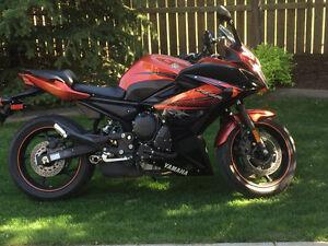2011 Yamaha FZ6R (600)  sport bike , *only 3478 Klms*