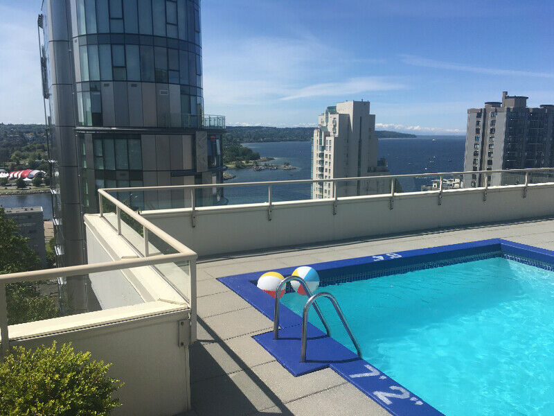 Beautiful one bedroom furnished apartment Rooftop patio ...