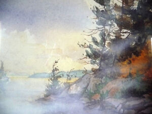 "Northern Landscape by Edwin Matthews ""Misty Bay"" L/E Stratford Kitchener Area image 6"