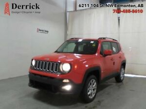 2016 Jeep Renegade Used 4X4 North Heated Sts Keyless $142 B/W