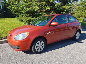 NÉGOCIABLE 2010 Hyundai Accent Coupe (2 door) - 29000KM!!