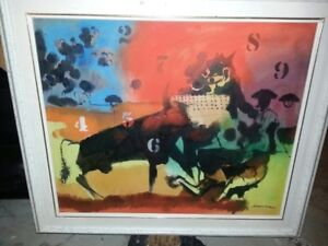 Oil Paintings, Bronze Sculptures - Downsizing Art Collection
