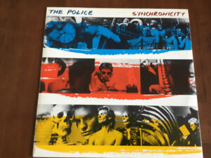 """""""THE POLICE"""" ALBUMS FOR SALE"""