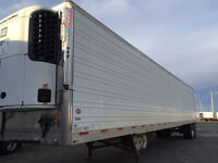 2007 Utility 50' tandem-axle refrigerated trailer