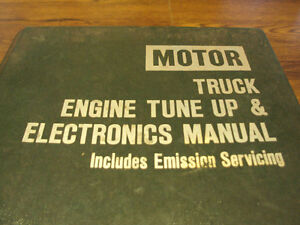 MOTOR TRUCK ENGINE SERVICE MANUAL