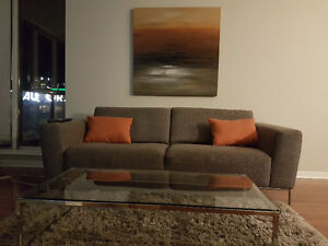 Fully Renovated Furnished Condo at Brava Avail Now Short Term OK Downtown-West End Greater Vancouver Area image 3