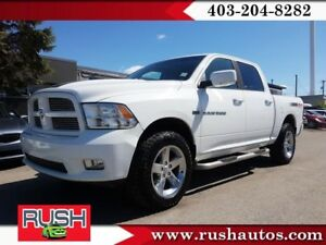 2012 Ram 1500 Sport  **REDUCED** - Bluetooth - SiriusXM - Fog La