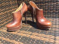 Kurt Geiger high heel boots size 6