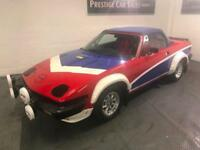Triumph TR7 Convertible V8 engine fitted,12 months MOT,racing colours.