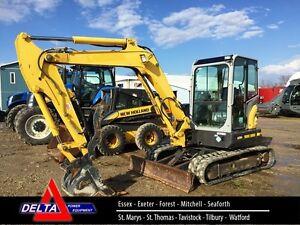 2012 Kobelco SK55SR Excavator