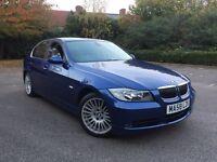 ✅✅✅✅✅✅✅2008 BMW 3 series 3.0 325i SE Le Mans Blue FULL BMW SERVICE HISTORY not m Sport