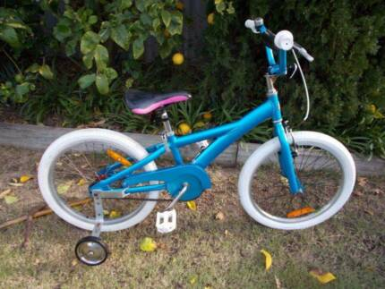 "Blue Apollo Radius 20"" Kids Bike with Trainers Beckenham Gosnells Area Preview"