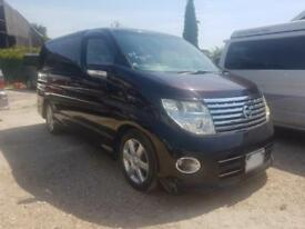 NISSAN ELGRAND HIGHWAY STAR, 2006, 2.5 LITRE, PETROL, 58,608 MILES, AUTOMATIC