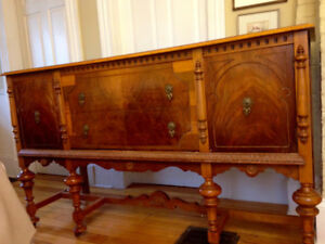 Beautiful Antique Sideboard, all original with intricate handles