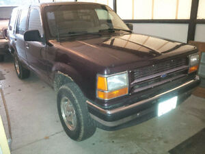 1994 Ford Explorer LX SUV, Crossover