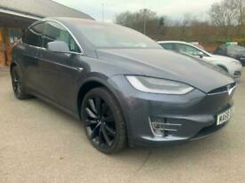 image for 2018 Tesla Model X 449kW 100kWh Dual Motors 22 Turbine Wheels Six Seater Interio