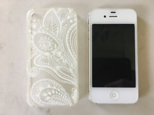 White iPhone 4s, Gently Used