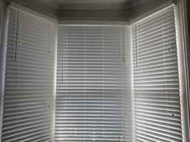 Dunelm white Venetian blinds