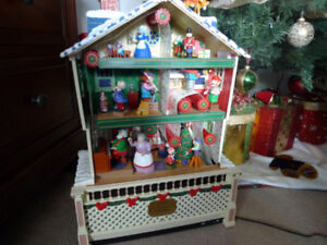 1995 Santa's Musical Workshop Mechanical Collectibles