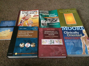 7 Massage and Anatomy textbooks Cambridge Kitchener Area image 1