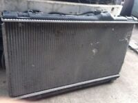 Lexus is200 radiator rad pack complete + fans 98-05 breaking spares is 200 can post