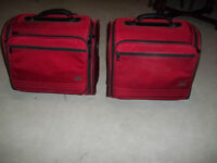 Matching carry-on roller cases