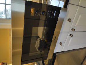 "Miele 24"" Stainless Steel Built In Microwave"