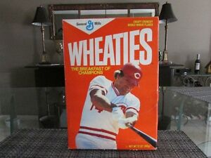 PETE ROSE CEREAL BOX