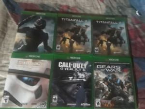Xbox one games Deal($40$)