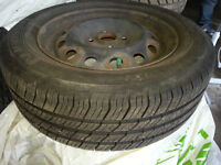 4 Michelin summer tires with rims 185 65R14