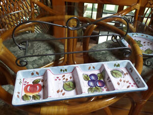 Black Forest Fruit by Heritage Mint - serving sets - great gift Sarnia Sarnia Area image 5
