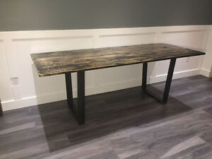 rustic desk / dining table