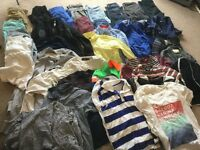 10 to 15 year old boys clothing - mostly H and M