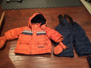 Boys winter coat and snow pants