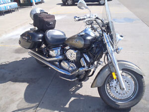 Yamaha V-Star 1100 Classic motorcycle in beautiful condition.