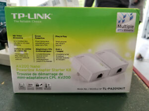 TP-Link 200Mbps Power Line Adapters For Sale.