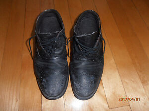 Chaussures travail acier, leather working shoes steel toe 8,5