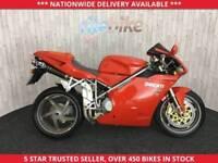 DUCATI 998 DUCATI 998 BIPOSTO ICONIC SUPER BIKE 12M MOT 2004 04 PLATE